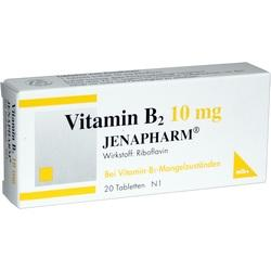 VITAMIN B 2 10MG JENAPHARM